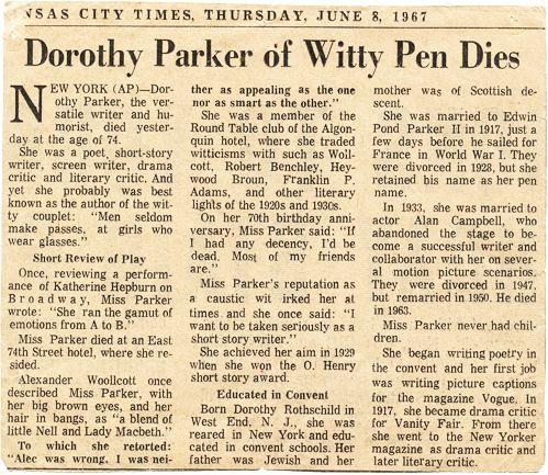 33 best Dorothy Parker images on Pinterest Books, Dorothy parker - dorothy parker resume
