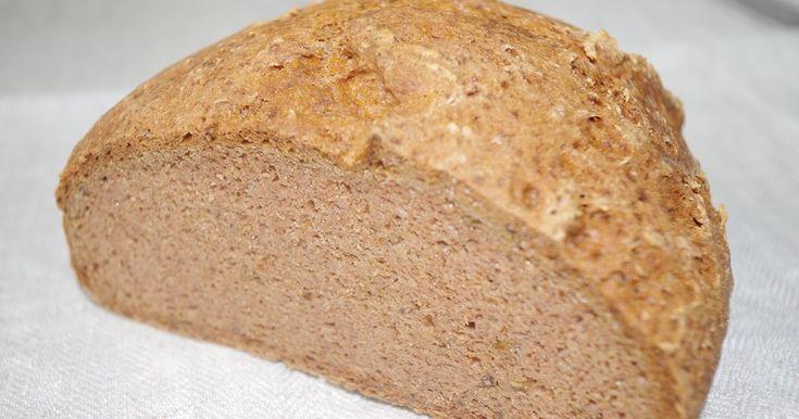 Čisto pohánkový chlieb