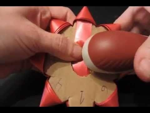 Tutorial. Como hacer lazos o moños para regalo. - YouTube