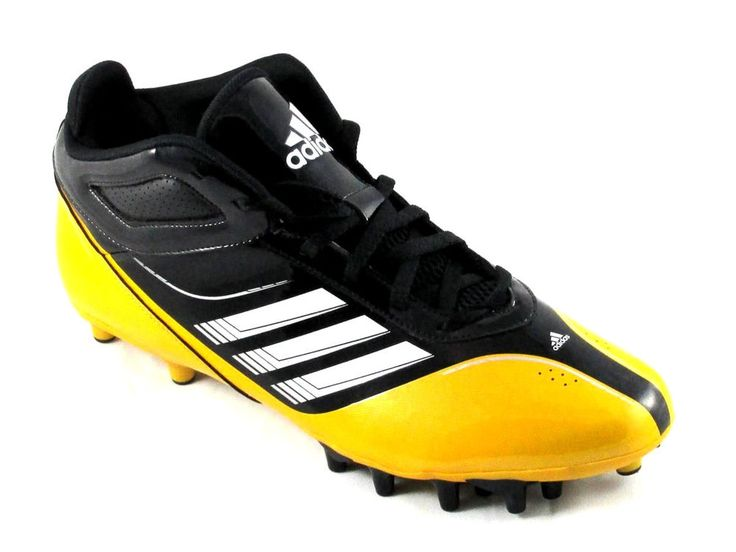 Adidas supercharge mid molded football cleats size 135