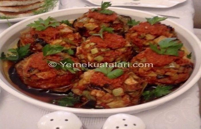 Patlıcan Çanağında Sebze Kızartması