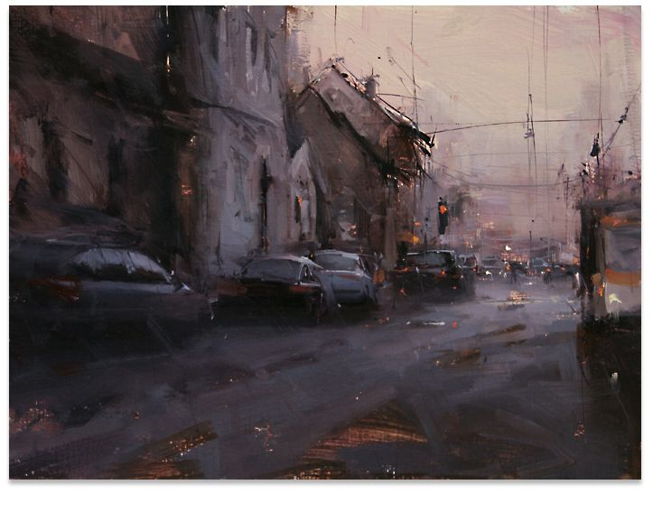 Tibor Nagy paintings of the Slovak Landscape