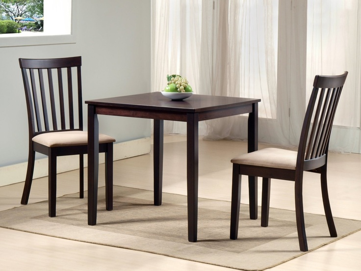 27 best images about 3 piece dining set on pinterest for 3 piece dining room table