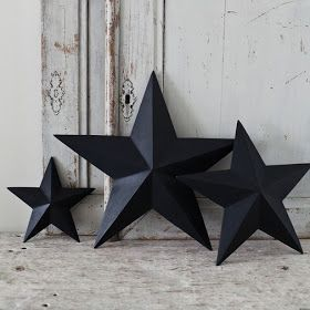 DIY Tutorial: How to make shabby chic 3D cardboard stars from a  cereal box  | thegluegungirl: