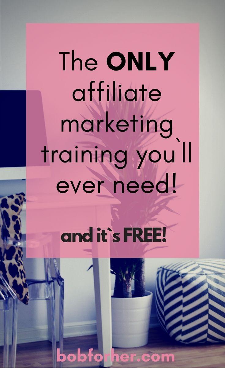 No.1 Affiliate Marketing Training you`ll ever need! bobforher.com #bloggingtips #makemoneyonline #startablog #affiliatemarketing