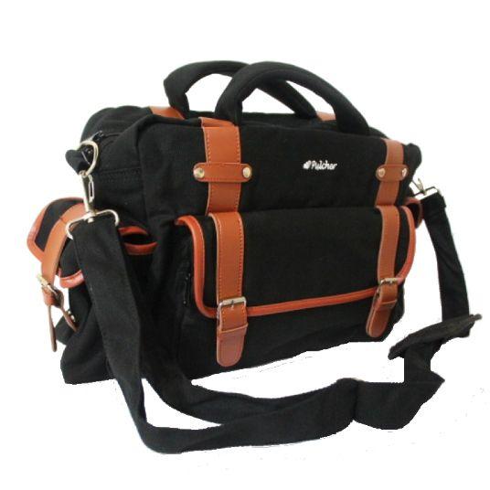 tas ransel vintage,,  pulcher bags - CRUX Black Rp. 229.000 // 085.7722.55000 - tasranselvintage.com