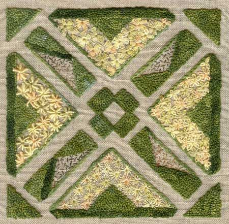 ANGLES GAMES beautiful embroidery kit. Via canevasfollies.ch