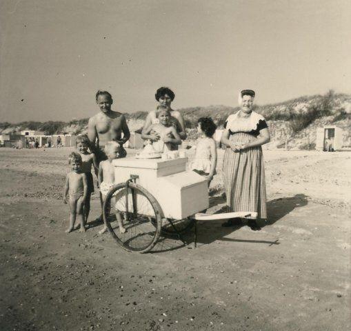 Strand Domburg (jaartal: 1950 tot 1960) - Foto's SERC
