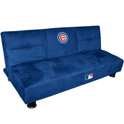 Chicago Cubs Convertible Sofa With Tray