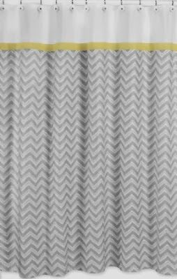 chic u0026 affordable yellow and gray shower curtains