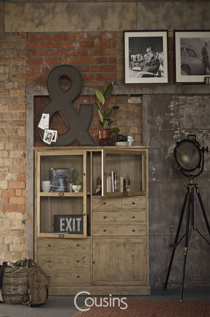 Kara bookcase is perfect for rustic or industrial interiors or those looking for a touch of natural appeal. Crafted from solid wood with complimenting light and dark wood finishes, help to create the rustic and warm feel guaranteed to bring character to your dining room.