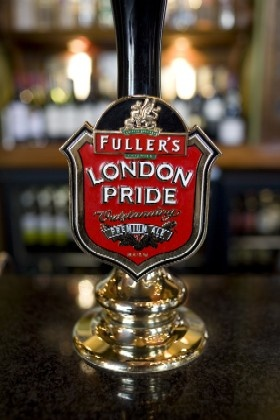 Fuller's London Pride, to be found at the Back Abbey, Claremont, CA.