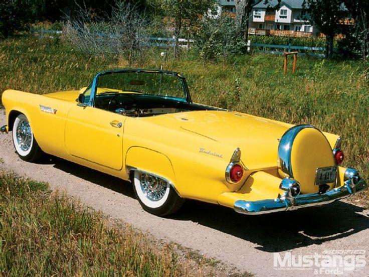 1955 Ford Thunderbird Convertible….Re-pin…Dropped at you by #CarInsurance at…