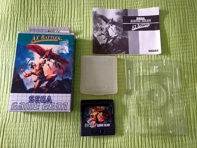 Sega Game Gear: Ax Battler A Legend of Golden Axe (Europe