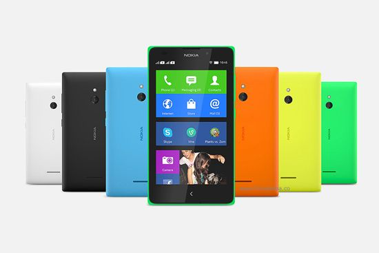 Another device Nokia XL, added in the league by Microsoft at a cost price of Rs. 11,489:-