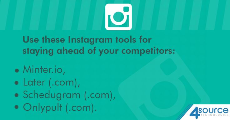 Willing to improve your Marketing policy? Opt for picking these amazing Tools for managing your presence on Instagram.
