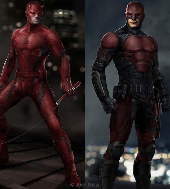 """Daredevil"" Concept Art Shows Alternate Suits | News | Dark Horizons"