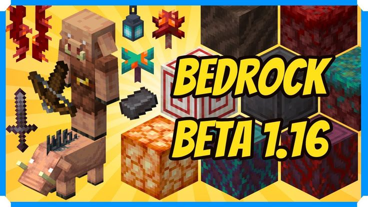 Minecraft Bedrock Edition 1.16 Nether Update Preview in