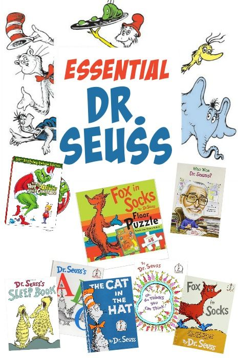 MY ESSENTIAL DR SEUSS FOR KIDS