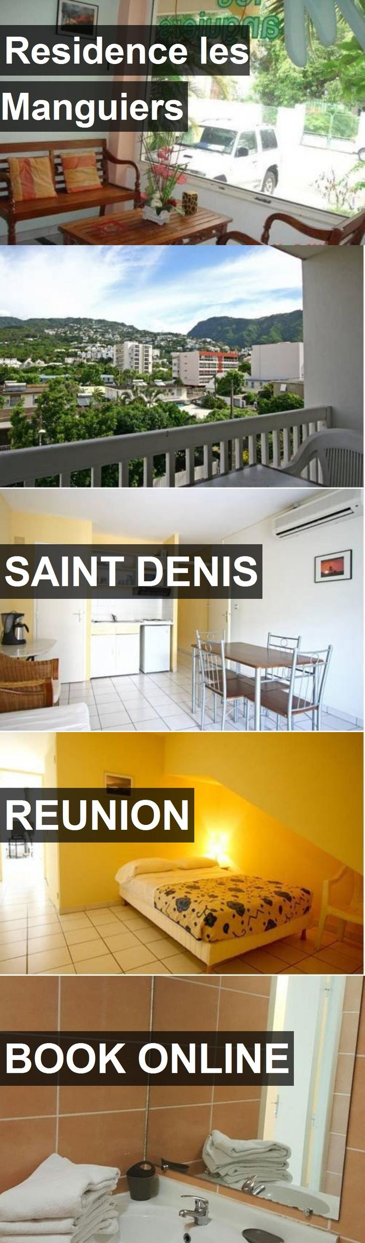 Hotel Residence les Manguiers in Saint Denis, Reunion. For more information, photos, reviews and best prices please follow the link. #Reunion #SaintDenis #ResidencelesManguiers #hotel #travel #vacation