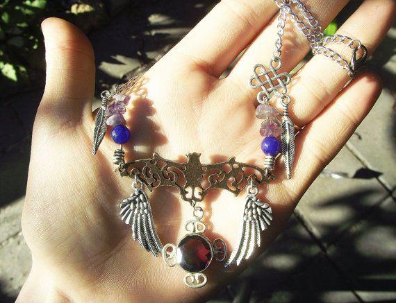 https://www.etsy.com/listing/158555624/vampire-bat-necklace-gothic-bridal?
