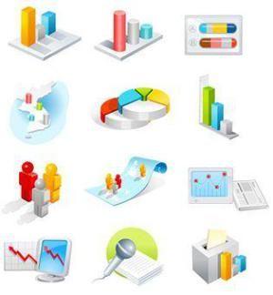 Tipos de gráficos en las hojas de cálculo Excel y otras: Otros tipos de gráficos