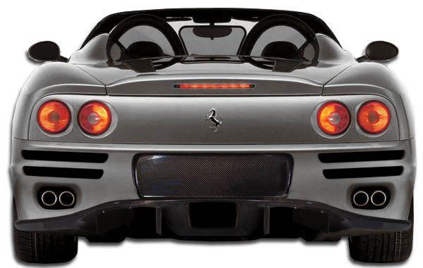 2000-2004 #Ferrari 360 Modena Carbon Creations F-1 Spec Rear…  #2017 #supercar