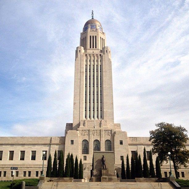 Nebraska State Capitol Building in Lincoln, NE