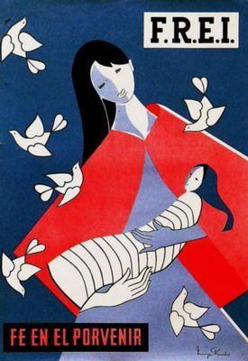 Maruja Pinedo 1964. Partido demócrata cristiano Catálogo patrimonial - Los verdaderos símbolos patrios de Chile