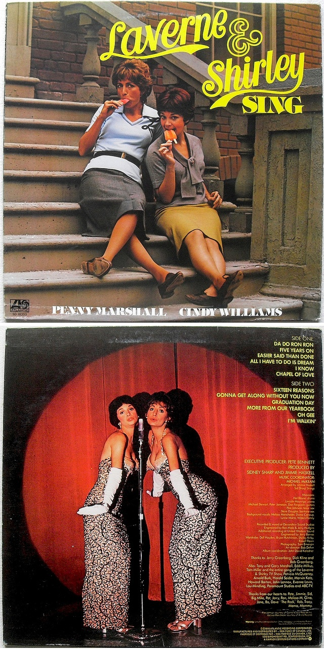 "Penny Marshall & Cindy Williams ""Laverne & Shirley Sing"" LP (1976)"