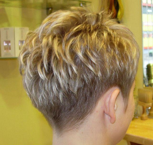 I would have to be feeling really brave to go this short...but cute!