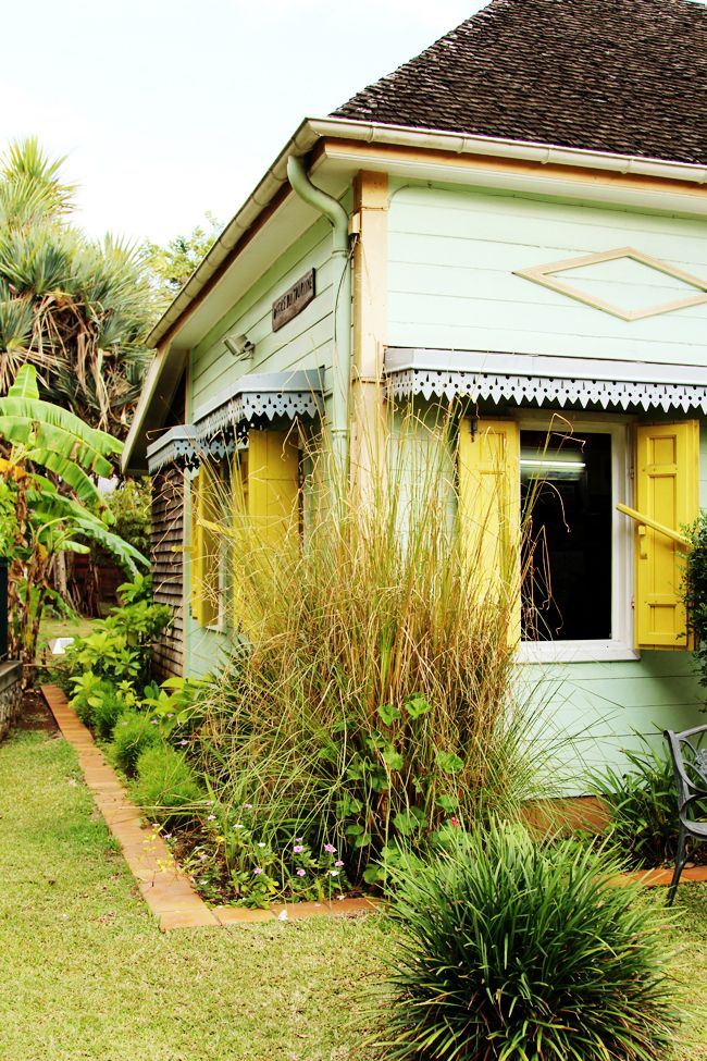 Beautiful houses in La Réunion, France