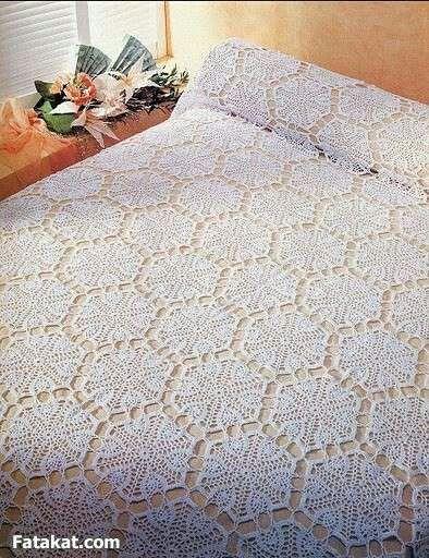 153 besten Crochet Bed Sheets Bilder auf Pinterest | Tagesdecke ...