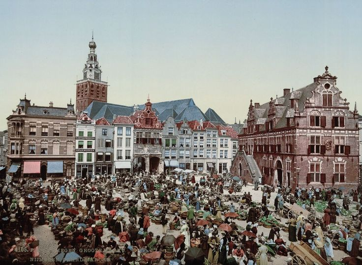 La vida en los Países Bajos de finales del siglo XIX