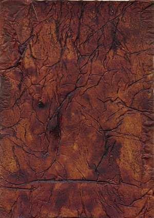 Red Leather Paint Technique