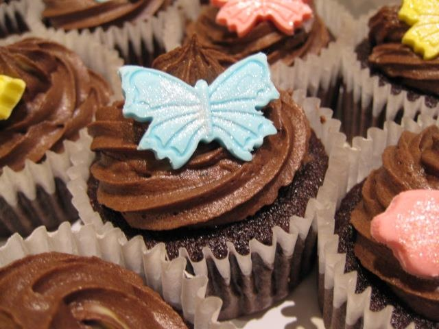 Sweet butterflies and cupcakes - by Homemade by Hollie