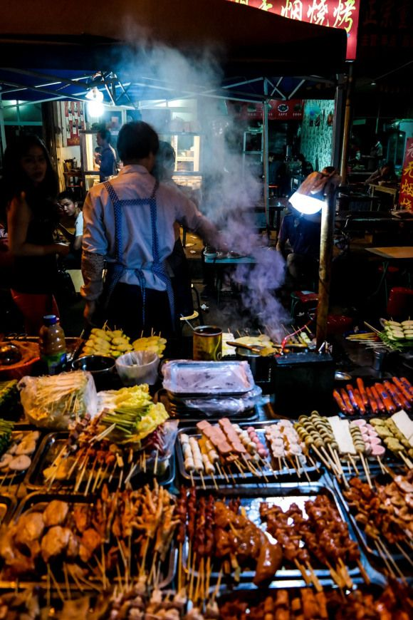 Barbecue Street Food Stall Saigon Ukandiedestinations Uk And Ie Destinations Street Food Uk And Ie Destinations Food Stall