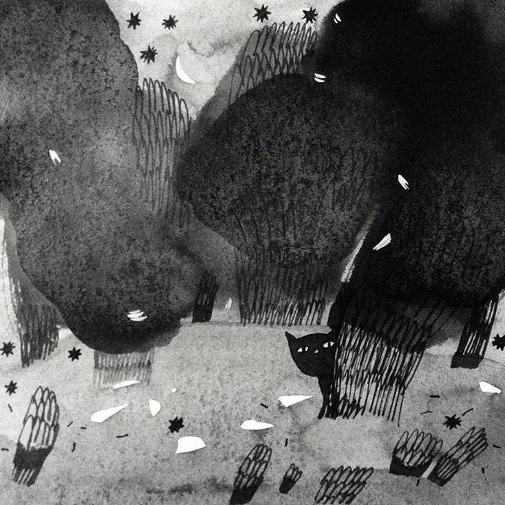День 7. Загубившийся/Lost ☁️ #inktober2016 #inktober #teawithrosejam #sketch #ink #inkillustration #draw #illustration