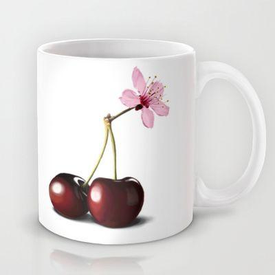 Cherry Blossom, In Memory of Mackenzie Mug by Rob Snow