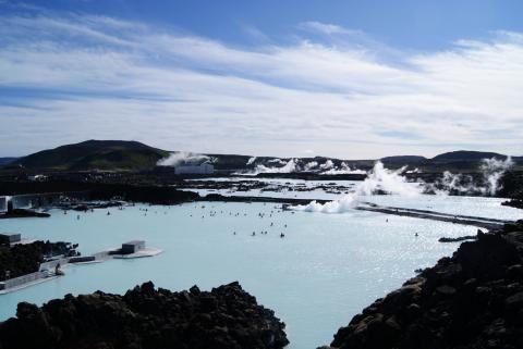 Blå Lagunen, Island