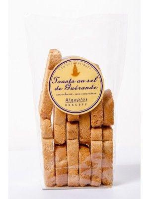 Toast au Sel de Guérande - Algoplus