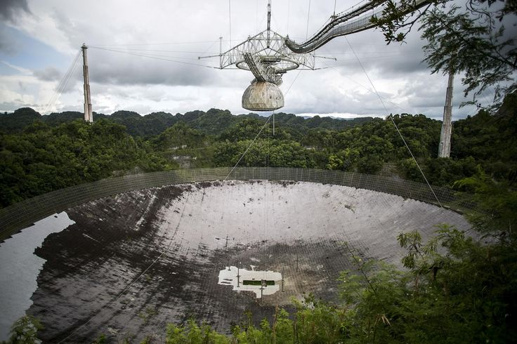 Staff at the Arecibo Observatory in Puerto Rico are safe, but the storm destroyed a key instrument, and conditions in surrounding towns are still unknown.