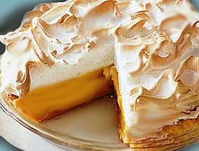 South African lemon meringue pie. This is a classic South African favourite and differs from its North American counterpart because the filling calls for egg yolks, lemon juice and condensed milk;