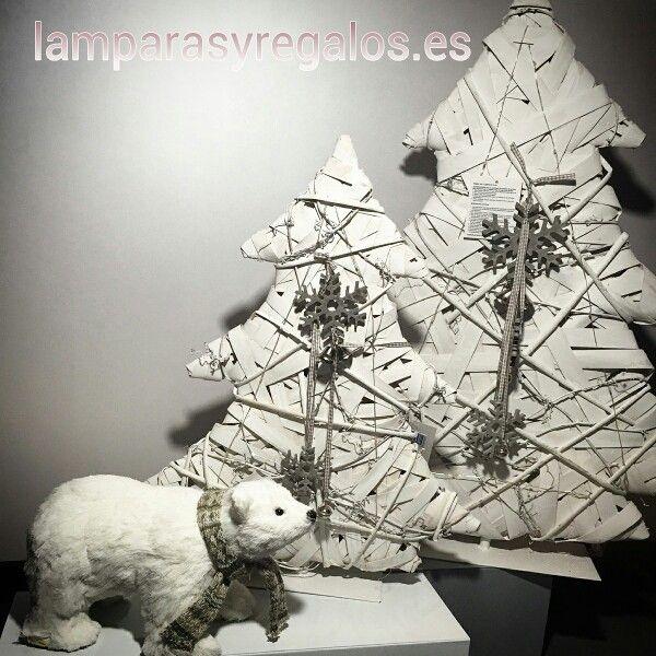 Llega la Navidad a Lamparas y Regalos, con adornos navideños para decorar tu hogar.  ★★Los arbolitos tienen luz.Funcionan con pilas. ★★ Ya en nuestra web→→→muy poquitas unidades→→→ www.lamparasyregalos.es  #arbolnavidad #luz #led #arbol #homestyle #martes #felizmartes #lamparas #lamparasyregalos #regalos #regaloideal #navidad #regalosnavidad #decoracion #moda #tendencia #blanco #envios #online #españa #paratodaespaña #coruña #madrid #barcelona #sevilla #guadalajara #donosti