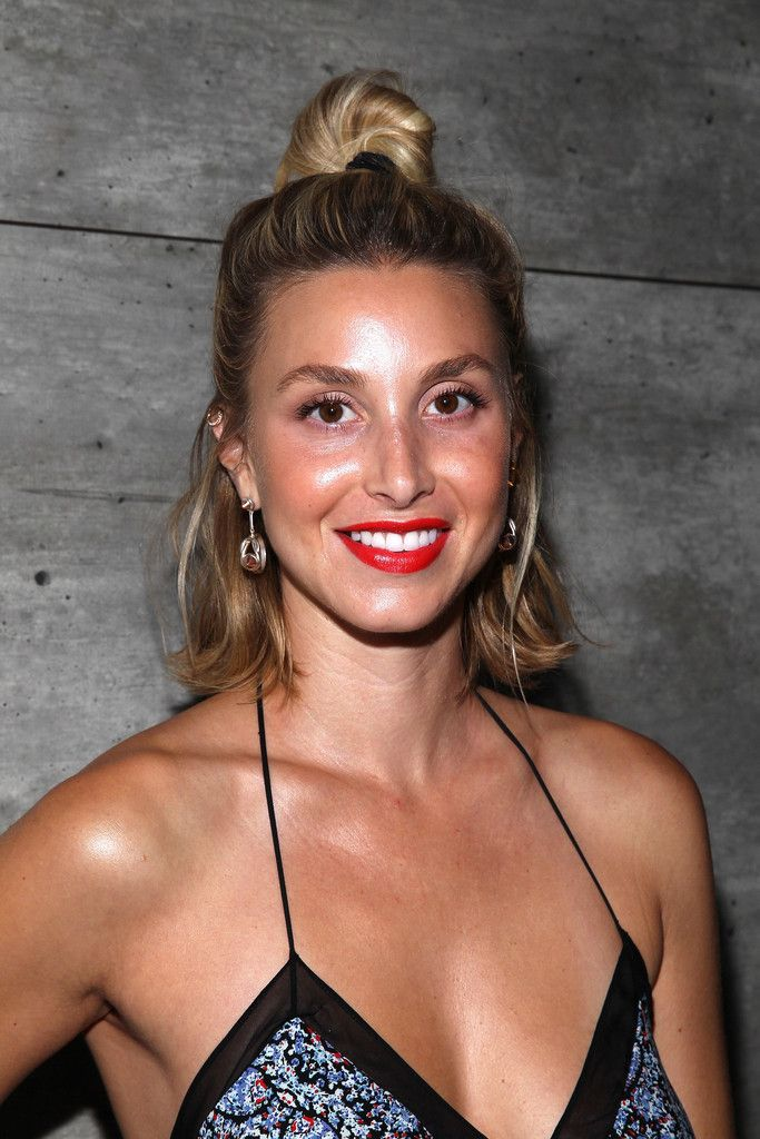 Whitney Port attends the Charlotte Ronson Presentation during Mercedes-Benz Fashion Week.Spring 2015 at The Pavilion at Lincoln Center on September 5, 2014 in New York City.