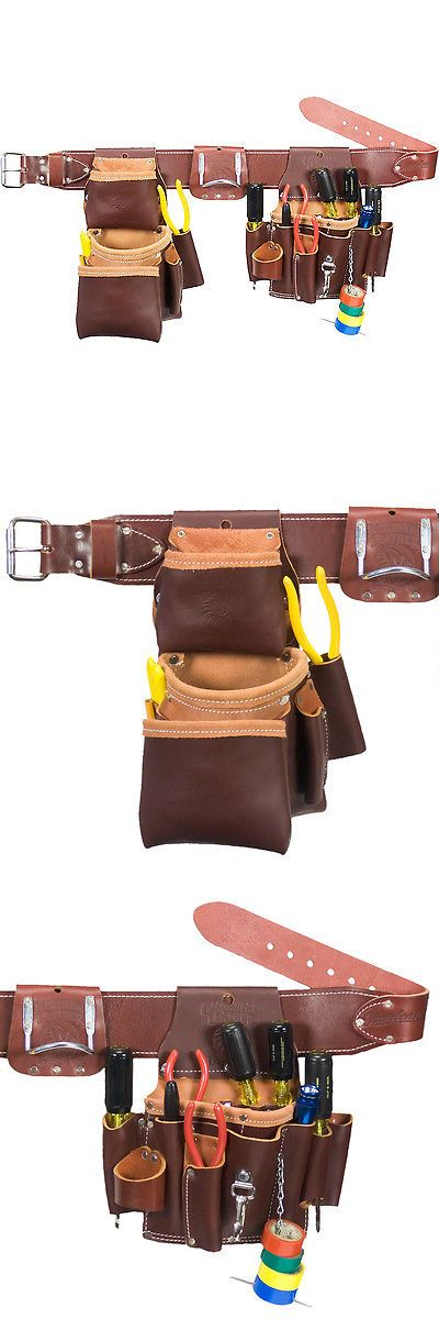 Bags Belts and Pouches 42362: Occidental Leather 5036Xxl Leather Pro Electrician Tool Belt Bag Set - Size Xxl -> BUY IT NOW ONLY: $207 on eBay!