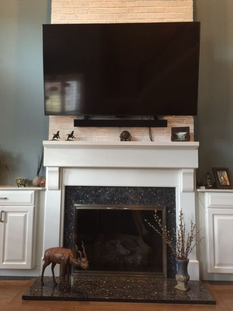 156 Best Images About Tv Above The Fireplace On Pinterest Fireplaces The Fireplace And