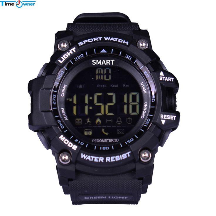 Bluetooth Smart Watch Call/MSN Notification Remote Control Pedometer Sport Watch IP67 Professional Waterproof Men's Wristwatch //Price: $35.24      #followme