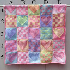 free crochet pattern for afghan at about.com