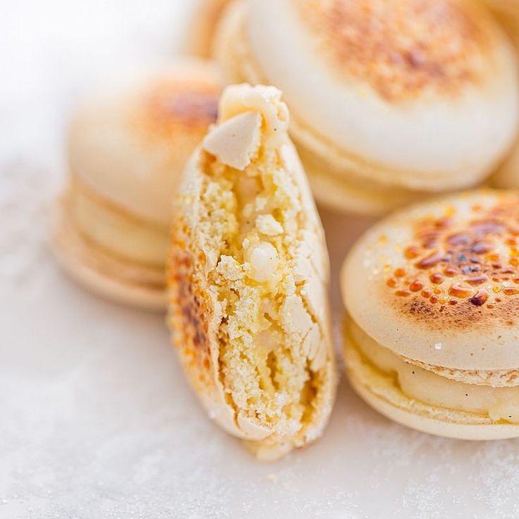 Moje Wypieki | Makaroniki Crème Brûlée